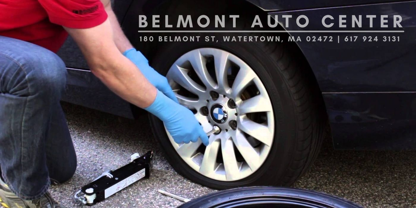 flat tire replacement