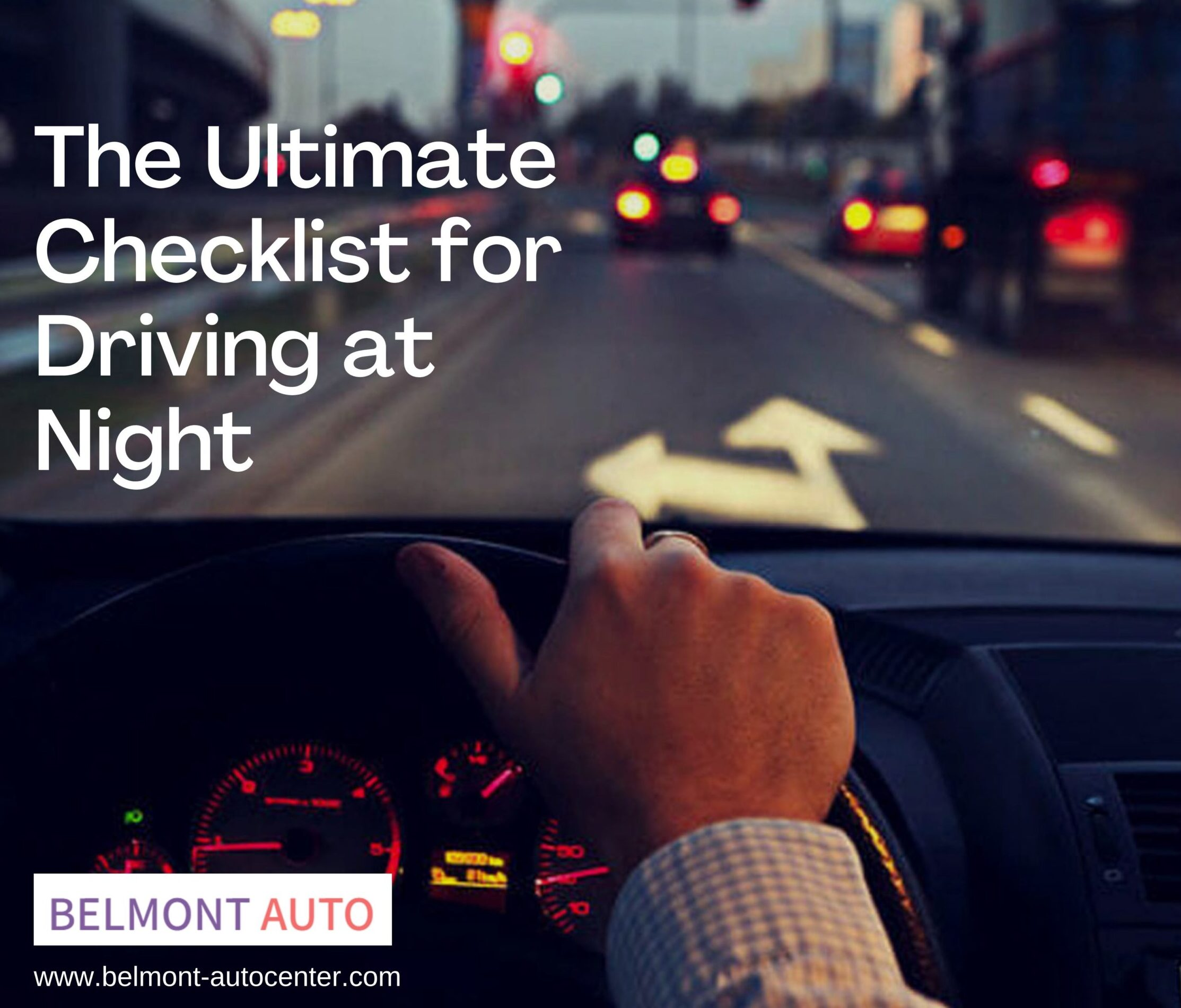 Checklist for Driving at Night